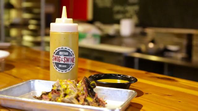 Swig & Swine's Mustard BBQ Sauce Recipe