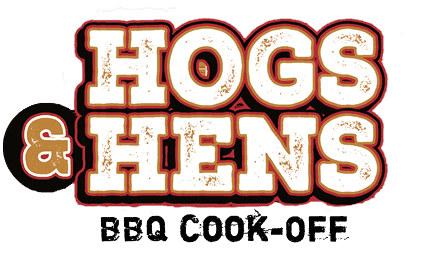 Abbeville Hogs and Hens BBQ Festival Logo