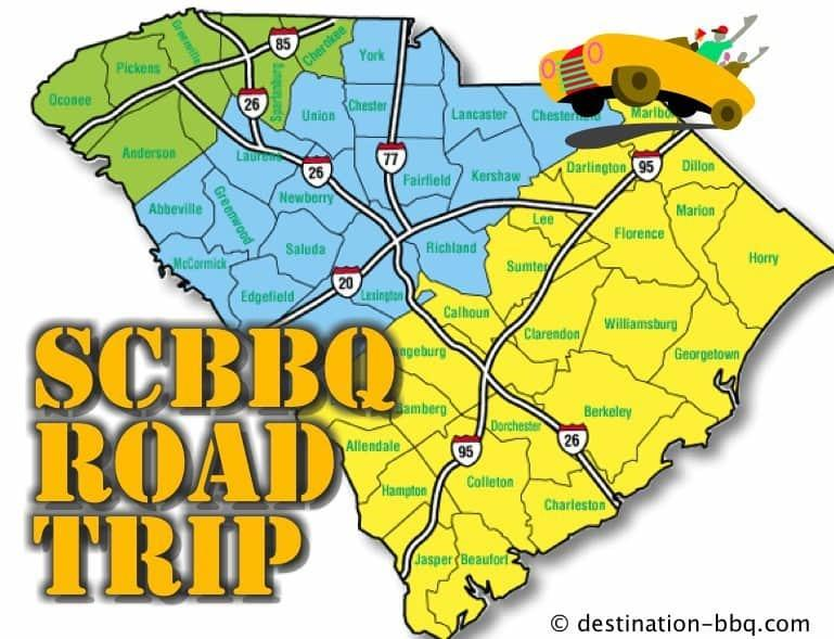 SCBBQ Road Trip: Start Your Engine