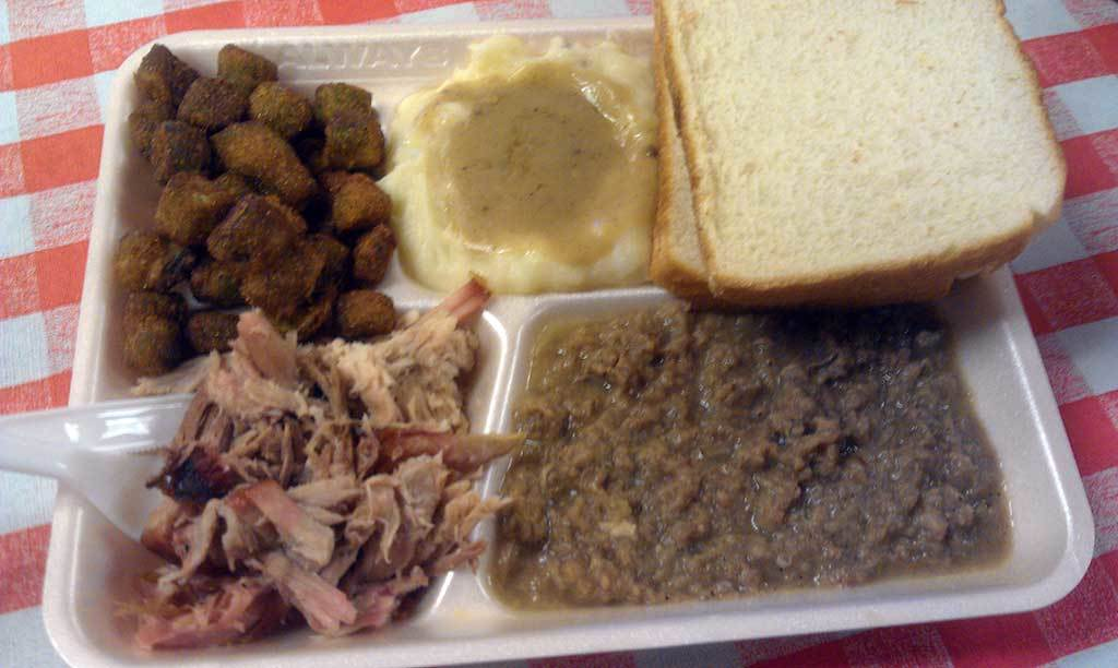 Midway BBQ Beef Hash Plate