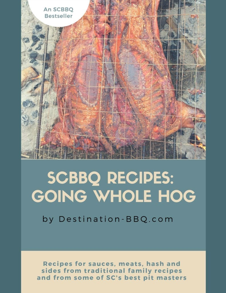 SC BBQ Cookbook Cover