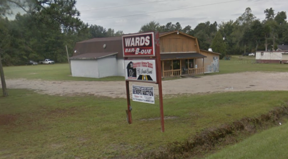Ward's BBQ on Hwy 15 in Sumter
