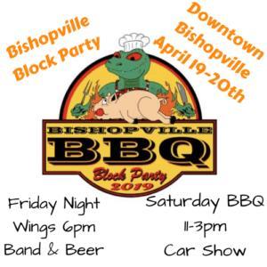 Bishopville BBQ Block Party Logo