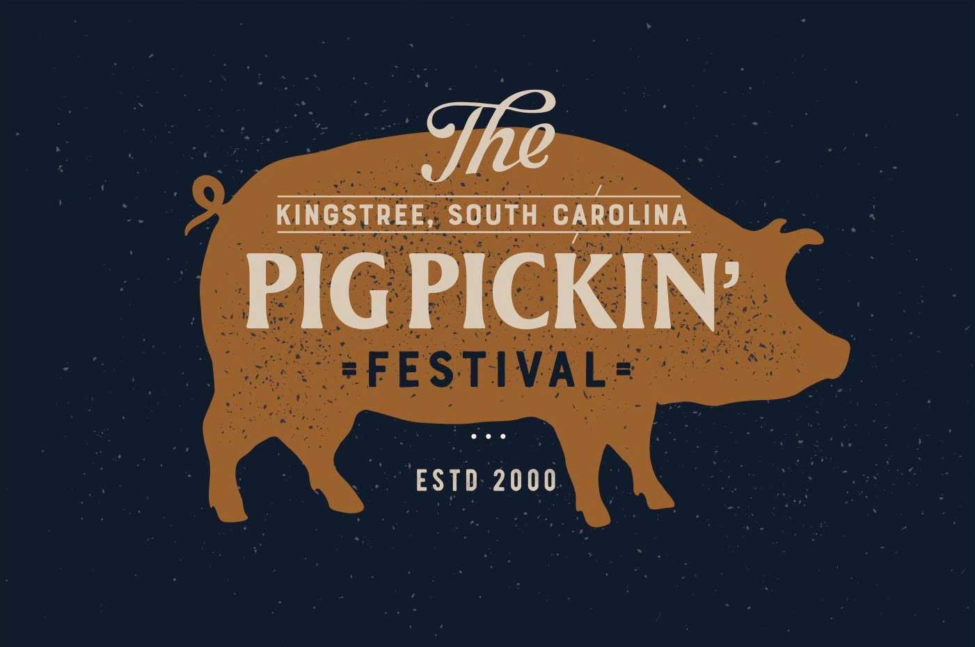 Kingstree Pig Picking Festival Logo
