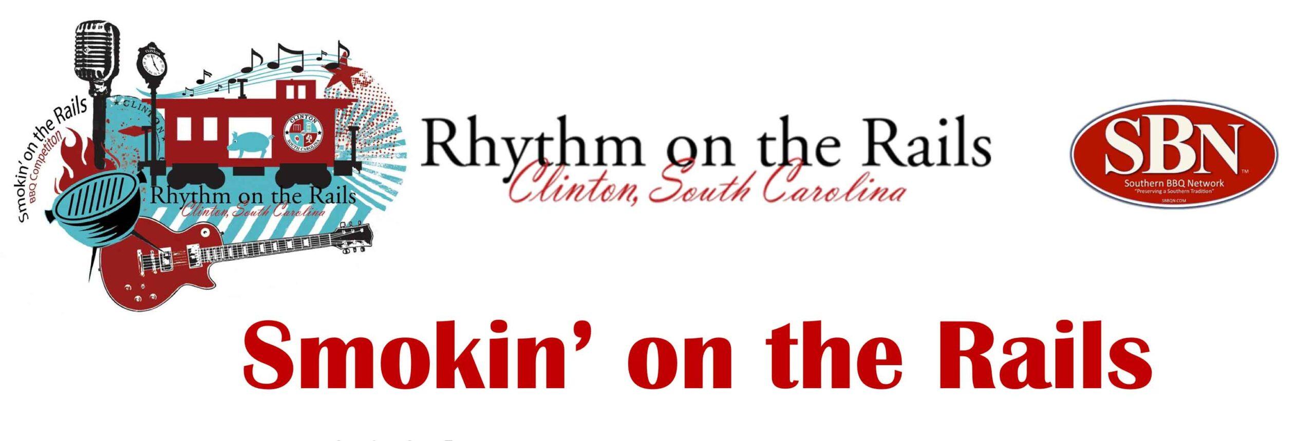 Rhythm on the Rails Logo in Clinton, SC