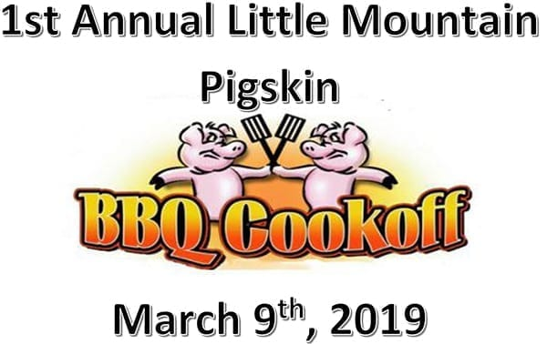 Little Mountain Pigskin Cook-Off
