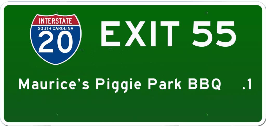SC BBQ on I-20 at Exit 55