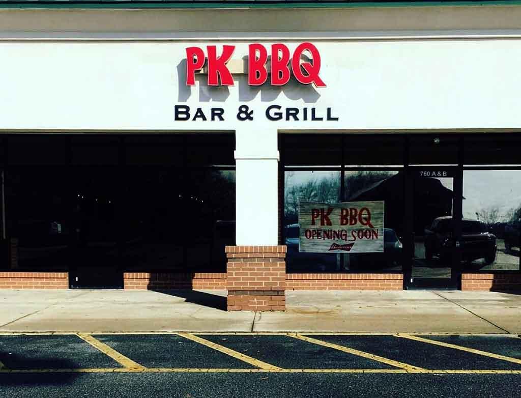 PK BBQ in Lexington