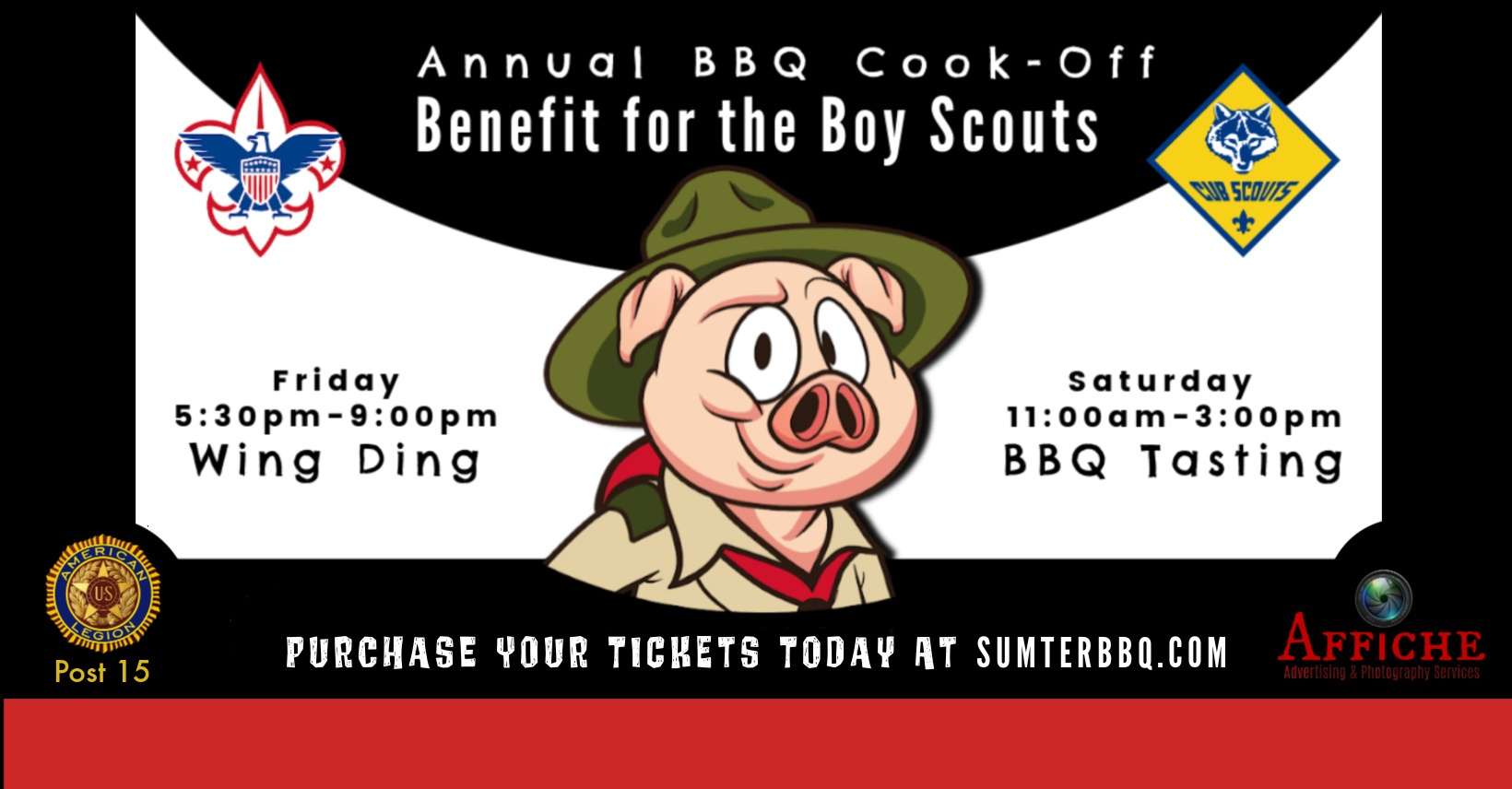 Annual BBQ Benefit For Boy Scouts Sumter, SC