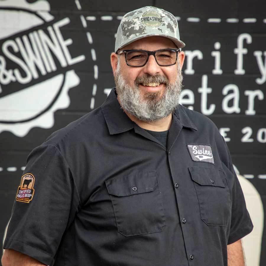 Anthony DiBernardo, owner of Swig & Swine