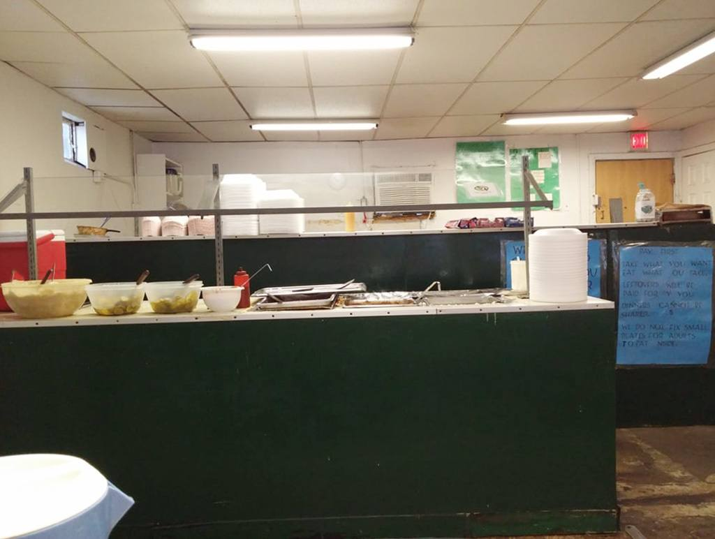 Interior of Dukes Bar-B-Que on Spruill Ave.