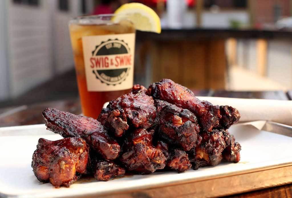 Swig & Swine's Wings
