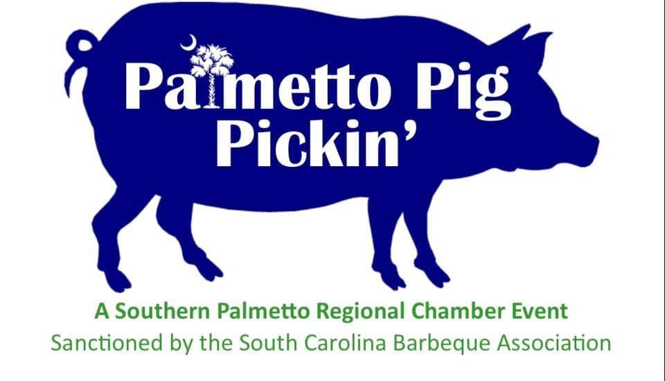 Palmetto Pig Pickin' Barbeque Cook-off Logo