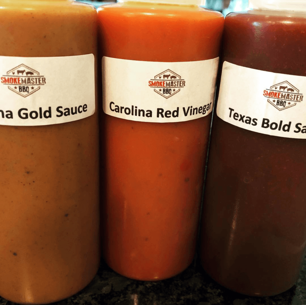 Rodney Coplin's Barbecue Sauces in Squeeze Bottles