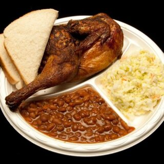 Baked Beans Recipe from Bucky's BBQ in Greenville.