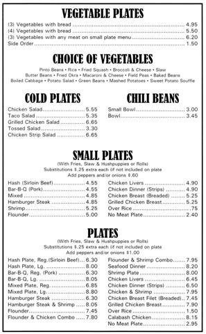 Menu for Holden's Ranch2