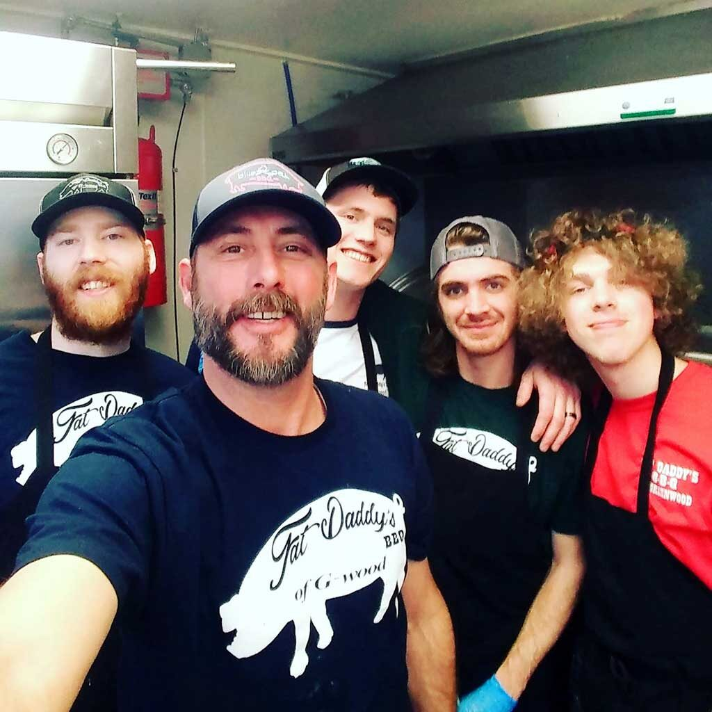 Chris Reeder and Crew at Fat Daddy's BBQ Greenwood