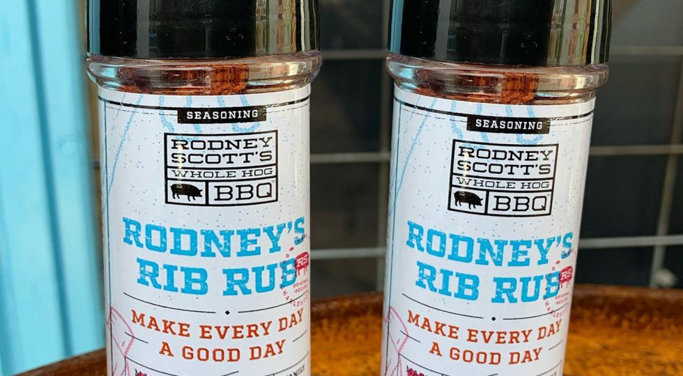 Two Bottles of Rodney Scott's Rib Rub