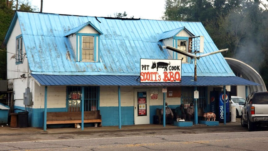 Scott's Bar-B-Que in Hemingway, SC