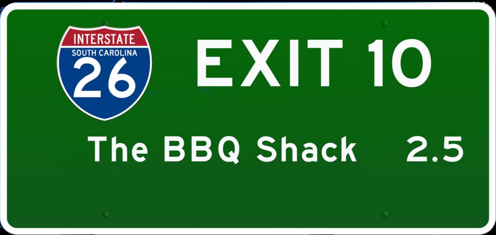 SC BBQ on I-26 at Exit 10