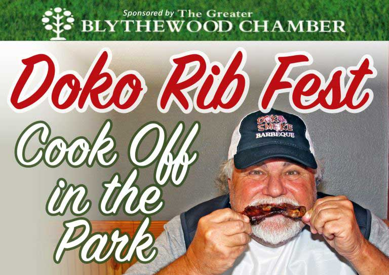 Doko Ribfest in the Park, Blythewood SC