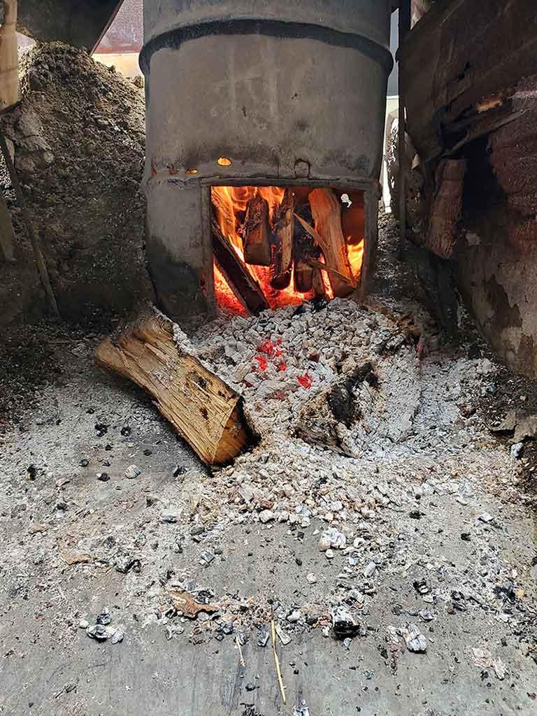 Burn Barrel at Circle M BBQ