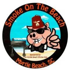 Smoke on the Beach Myrtle Beach logo