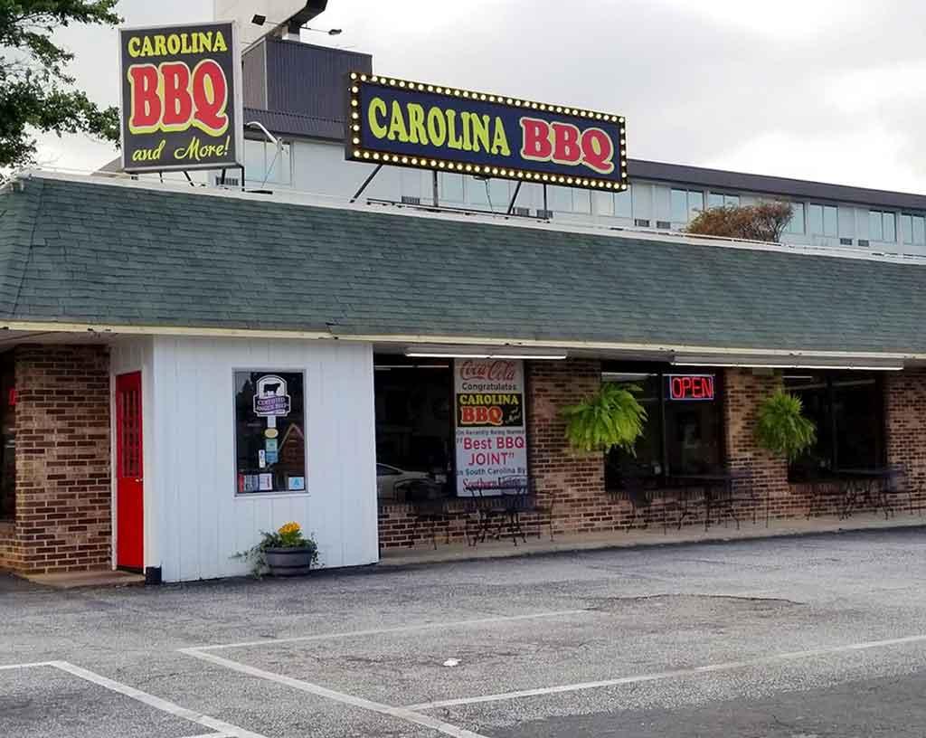 Carolina Barbecue and More in Spartanburg
