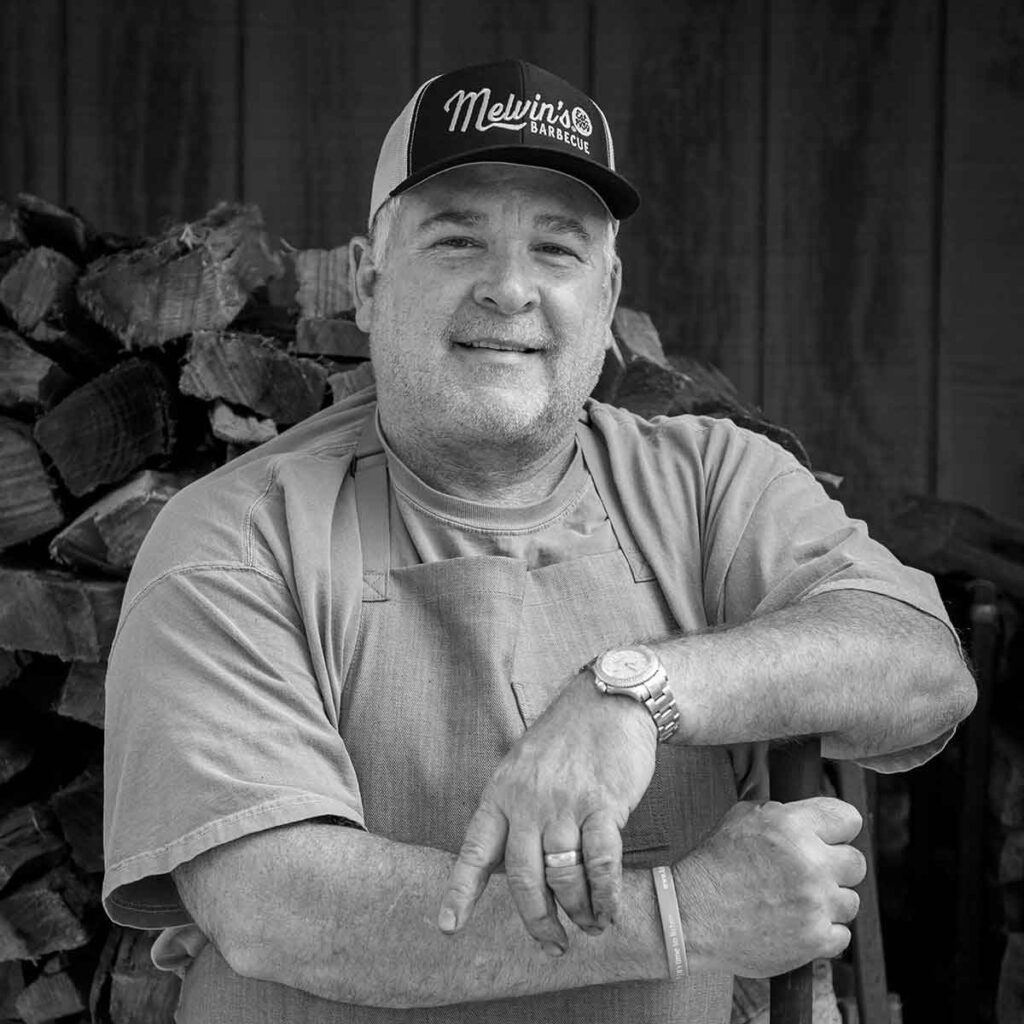 David Bessinger, owner of Melvin's Bar-B-Que