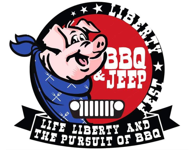 Liberty BBQ Jeep Fest Logo