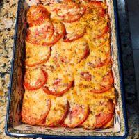 Lone Star BBQ Tomato Pie